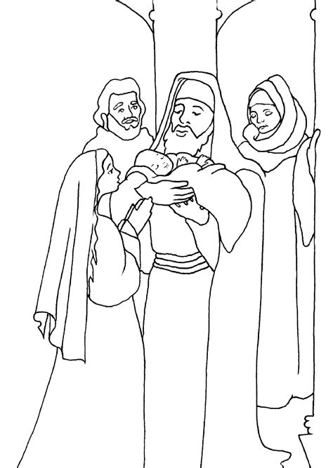 Simeon And Coloring Page and simeon coloring pages