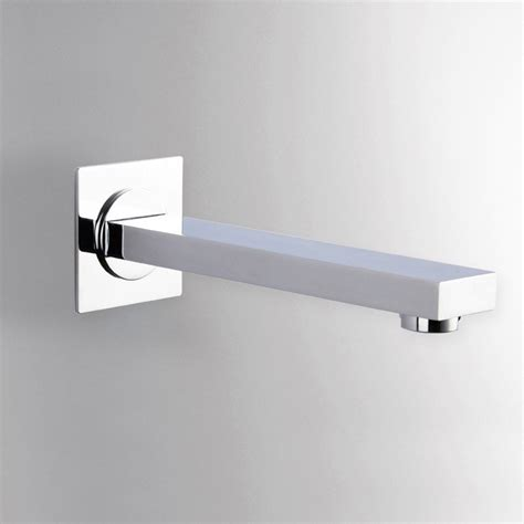modern wall mount tub filler modern solid brass wall mount tub filler spout in polished