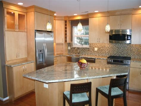 kitchen with small island best small kitchen design with island for