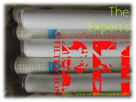 Pp 010 X 15x25 pfi pp 010 40 be soe cartridge filter 10 micron 40 inch membrane indonesia