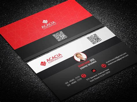 creative personal business card templates personal business card business card templates
