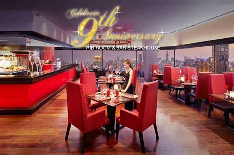 The Rib Room Bar At The Landmark Bangkok celebrate 9th anniversary rib room and bar steakhouse at