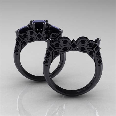 designer classic  black gold  stone princess black