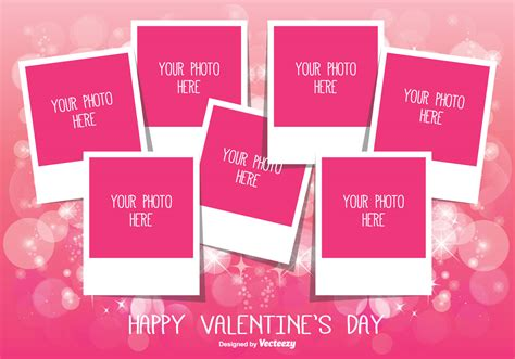valentines day collage s day photo collage template free
