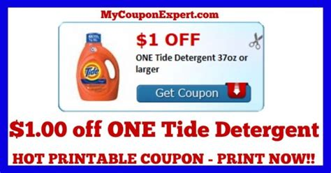 printable detergent coupons online check this coupon out print now 1 00 off one tide