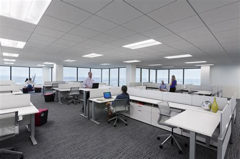 newspaper office layout open offices 2 0 roaming desks private spaces lpa inc