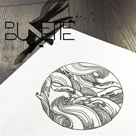 sket tattoo barong bali wave sketch tattoo www imgkid com the image kid has it