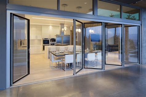 sliding glass wall system cost burnaby residence nanawall