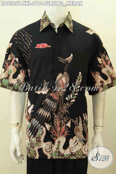 Hem Merak batik hem keren motif burung merak kemeja batik pria