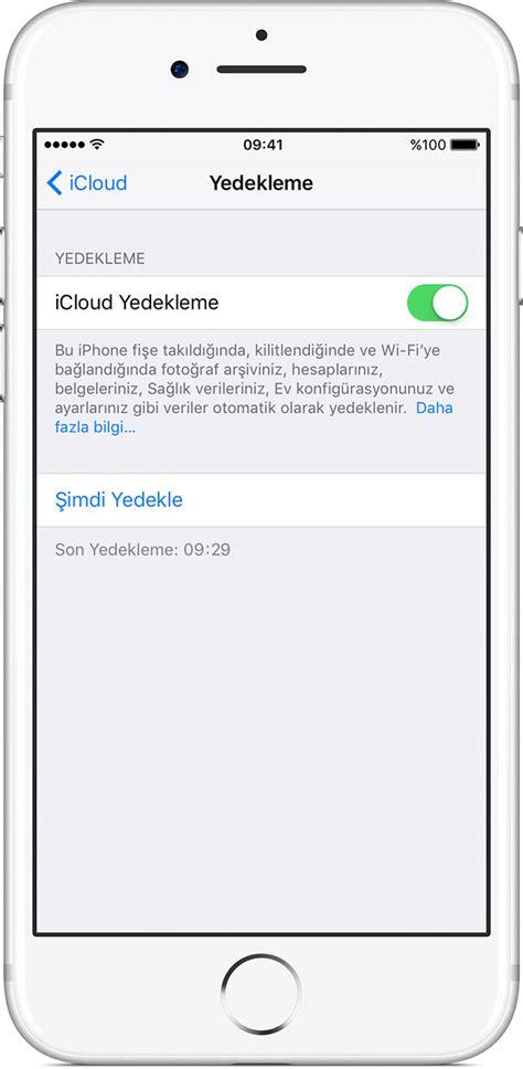 iphone u bilgisayara yedekleme iphone ve ipod touch ınızı yedekleme apple destek