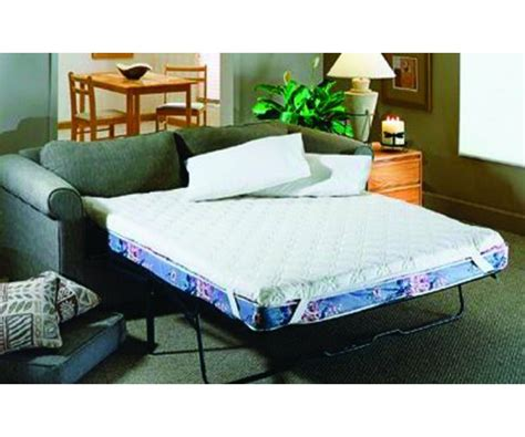 Sofa Bed Pad by Foam Sofabed Pad White 2 Quot H X 60 Quot W X 72 Quot D