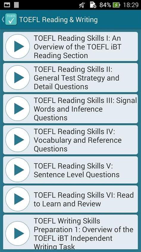 toefl speaking section practice online toefl practice test free 1mobile com