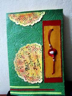 Handmade Cards For Rakhi - quot the world quot handmade rakhi cards