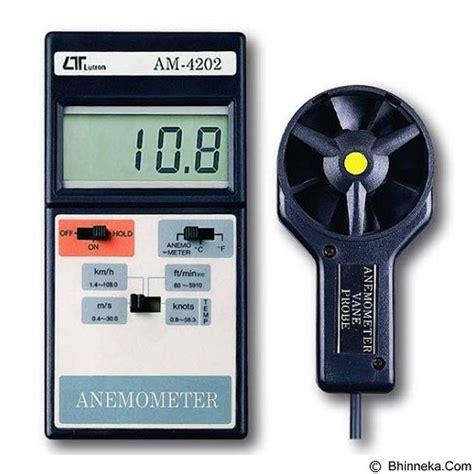 Jual Anemometer Digital Lutron Am 4202 jual lutron digital anemometer am 4202 murah bhinneka