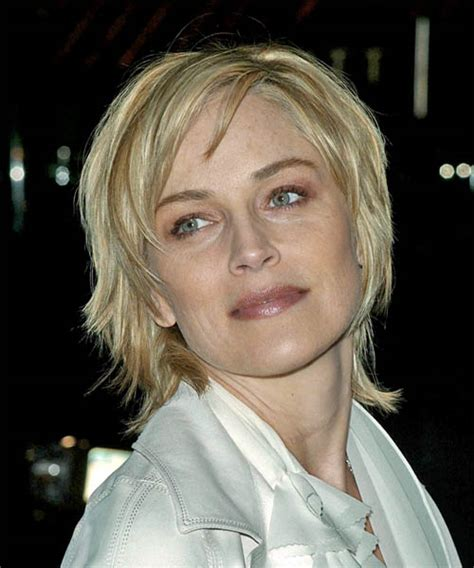 the back of sharon stines short bob sharon stone hairstyles in 2018