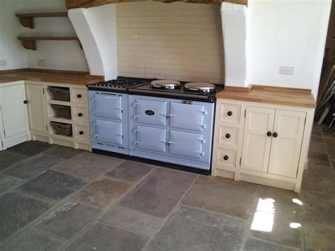 sink units for kitchens dacre banks large kitchen with matching coloured aga and