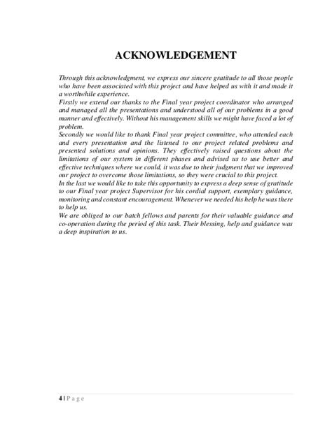 acknowledgement thesis malaysia hand gesture recognition system fyp report