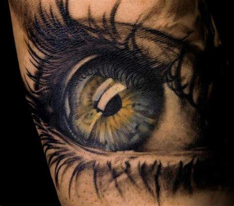 eye tattoo with reflection eye tattoo love the shine reflection looks real