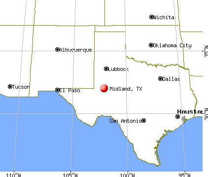 map of midland texas midland texas map and midland texas satellite image