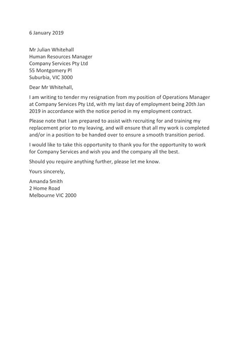 resignation letter templates resign
