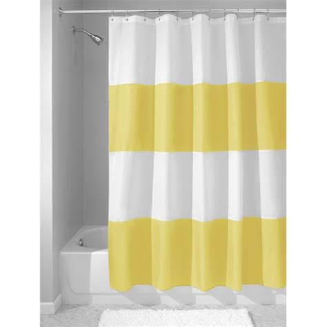 water repellent shower curtain interdesign mildew free water repellent zeno fabric shower