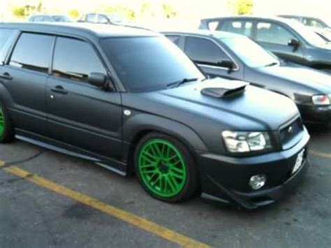 subaru matte black matte black finish on a subaru forester youtube