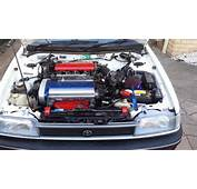 AE94 Toyota Corolla 4AGE 20V Silvertop  Engine Clicking