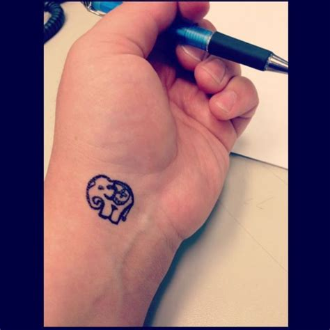 elephant tattoo designs wrist 45 elephant tattoos designs on wrists