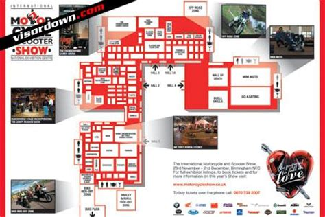 nec birmingham floor plan grab the nec bike show floorplan visordown