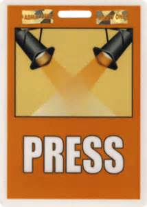 press badge template stock laminated id badges