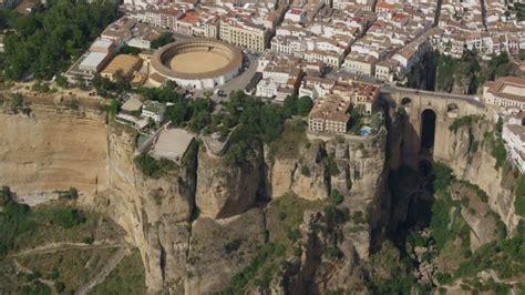 fotos aereas antiguas de pueblos de españa ronda andalousie espagne vue a 233 rienne hd stock