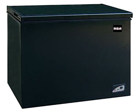 Freezer Rca 7 1 cubic foot chest freezer black 7 1 cubic foot chest
