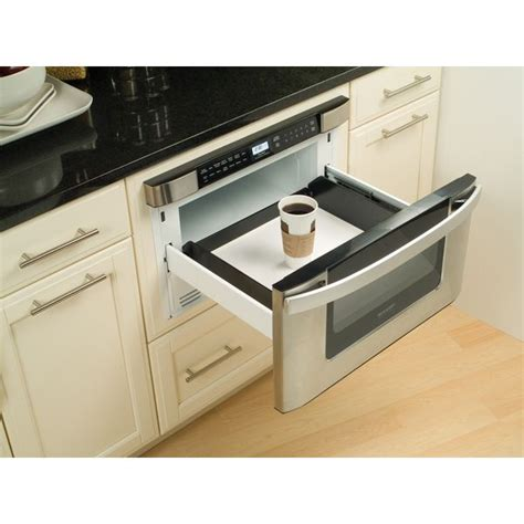 24 inch under cabinet microwave sharp insight pro series built in 24 inch microwave drawer