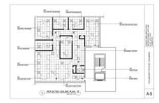 Autocad Floor Plan Reflected Ceiling Plan Construction Documents
