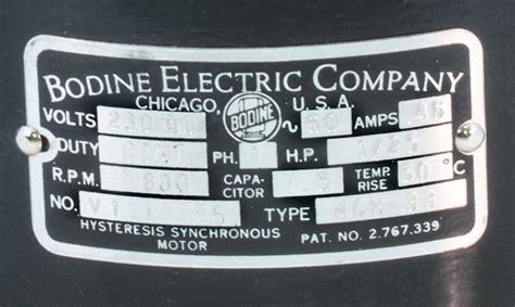bodine motor wiring diagrams 115v bodine motor wheels
