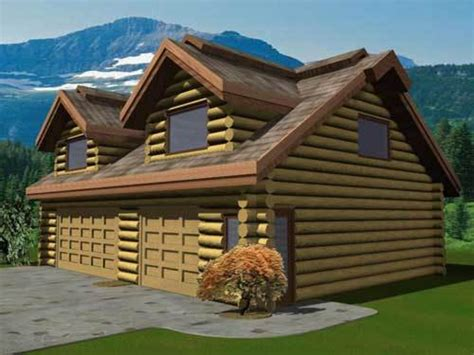 Garage Cabin Plans by Small Cabin Plans Log Cabin Plans With Garage Log Home