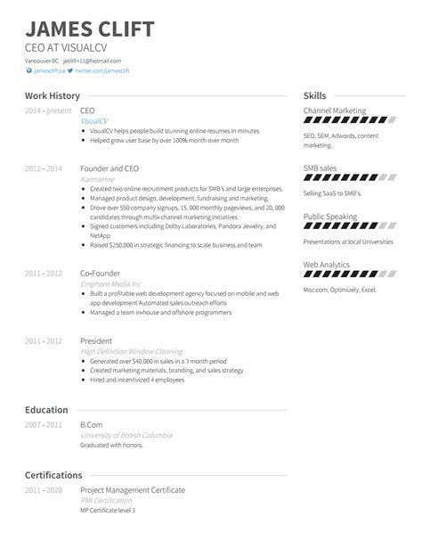Resume Guide by Free Resume Guide 2018 With Amazing Tips And Exles