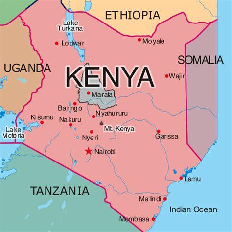 africa map kenya map of kenya republic of kenya maps mapsof net