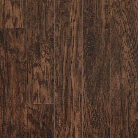 pergo xp coffee handscraped hickory 10 mm thick x 5 1 4 in wide x 47 1 4 in length laminate