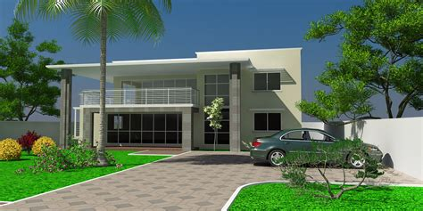 House Plasn by Ghana House Plans Adzo House Plan