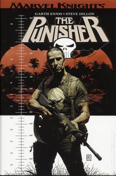 punisher omnibus hc 2017 marvel knights by garth ennis 2nd edition comic books
