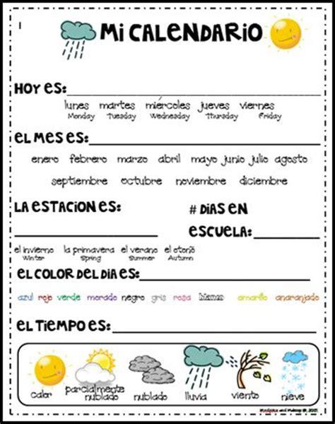 El Calendario En Espanol M 225 S De 25 Ideas Incre 237 Bles Sobre Calendario Primer