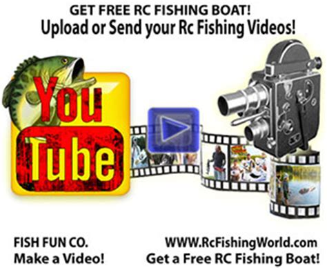 rc fishing boat videos remote control fishing boat videos and more