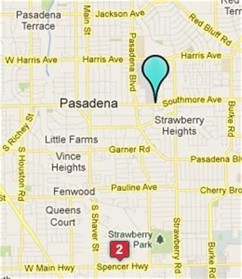 pasadena texas map pasadena tx hotels motels see all discounts