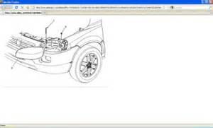 Service Brake System Light On Chevy Uplander 2005 Chevy Uplander Headlight Electrical Problem 2005