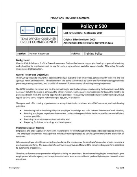 building access policy template 10 policy templates free pdf format