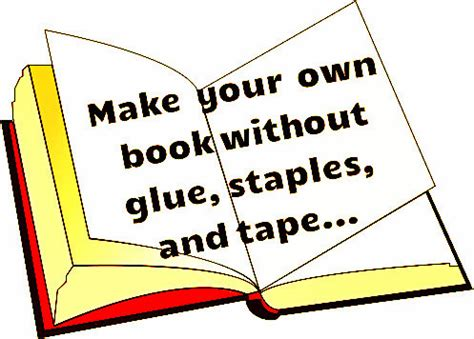 How To Make A Book With One Of Paper - how to make a real looking book bookmaking for primary