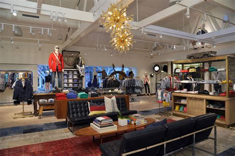 Home Design Stores In Los Angeles Hilfiger Flagship Store Los Angeles 187 Retail Design