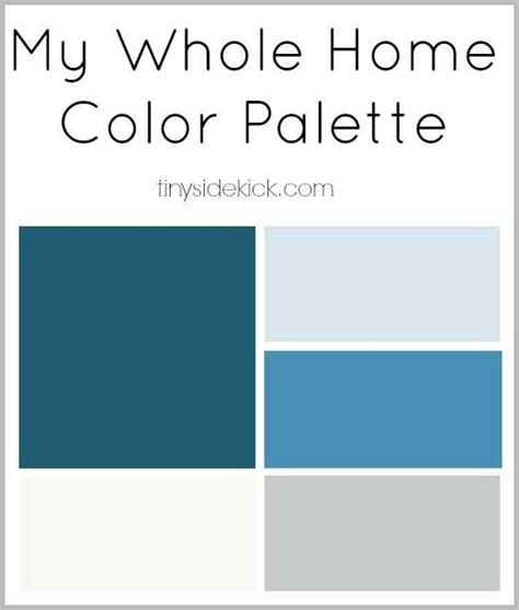 what is my color palette how to create a whole home color palette