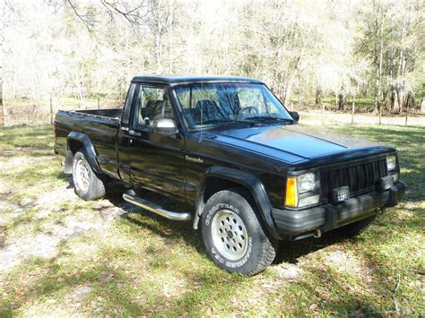 jeep truck 2 door 1992 jeep comanche eliminator standard cab pickup 2 door 4 0l